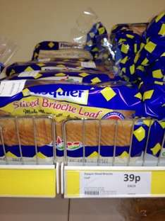 Pasquir Sliced Brioche Loaf - 39p @ Heron Frozen Food's