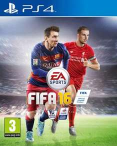 FIFA 16 Preowned PS4 from Game instore £7.99