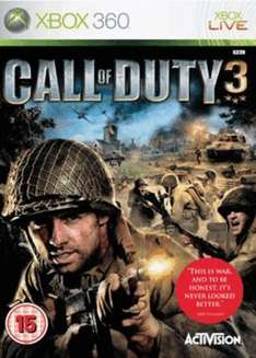 Call of duty 3 Xbox 360 pre owned @ Grainger games for £4.99