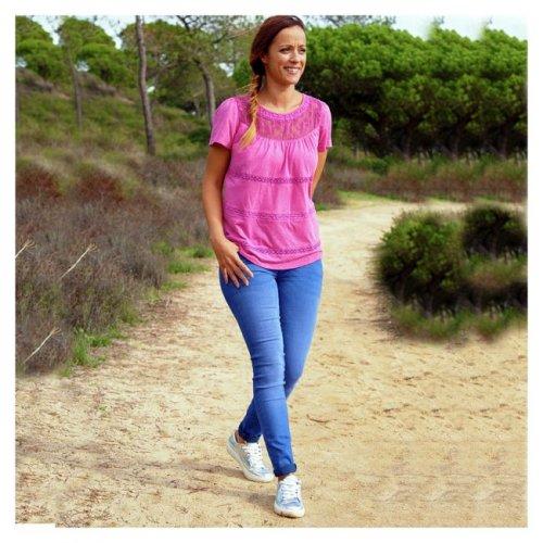 Cherokee Women's Fashion Wash Blue Skinny Jeans - Size 10-18 Less than half price £5.50 @ Argos