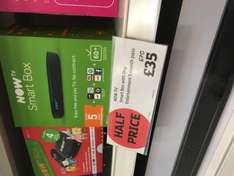 New now smart tv box with 5 months entertainment £35