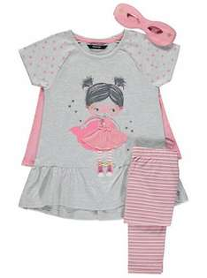 3 Piece Set with Detachable Cape (was £10.00) Now £6.00 C&C at Asda George