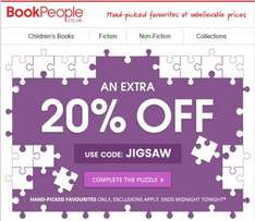 20% Off 'Handpicked favourites' at The BookPeople (Today Only - 23/09/16)
