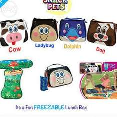 Snack Pets Freezable Lunch Box - Assorted £3 @ The works [was £9.99] + free C&C