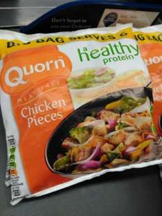 Quorn Chicken Style Pieces 500G Tesco was £2.79 now £1.50