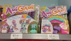 Amigami Sets £1.99 each in Home Bargains instore