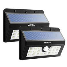 2 x 20 LED Solar Lights, Mpow 3-in-1 Wireless Weatherproof Security Light Motion Sensor - Mis-price - £12.99 Dispatched from and sold by 365-home-zone / Amazon