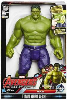 Avengers Age of Ultron Titan Hero Tech Hulk Action Figure with sounds £13.99 and free delivery @ Argos/Ebay
