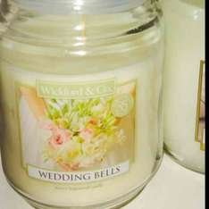 wickford & co 18oz wedding bells candle for £2.99 @ Home Bargains