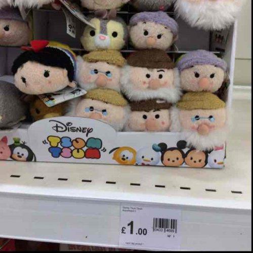 £1 Disney Tsum Tsums from Wilko (Stratford)