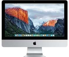 Apple iMac 21.5-inch Desktop (Intel Core i5 2.8 GHz, 8 GB RAM, 1 TB, Intel Iris Pro 6200, OS X) - Silver - 2015 £899 / £894 (With student code) PRIME MEMBERS EXCLUSIVE @ Amazon