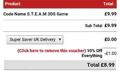 Code Name S.T.E.A.M 3DS at 365games for £8.99