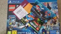 lego Dimensions starter pack PS4 with free superman fun pack- Sainsburys for £45