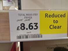 Tefal maxifry - £8.63 @ Tesco, was £35
