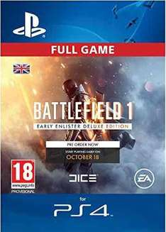Student Deal - Battlefield 1 Early Enlister Deluxe Edition - £62.99 @ Amazon UK