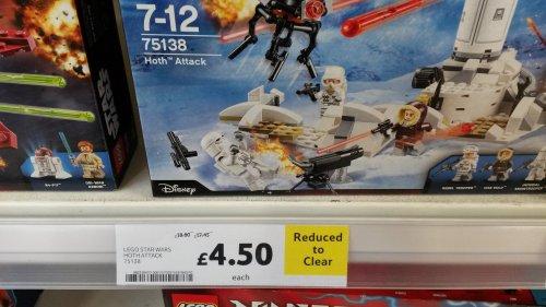 Lego Hoth Attack At Tesco £4.50