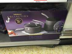 Sainsburys collection 3 pan set (St Clares Hampton) £35