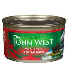John West Wild Pacific Red Salmon  Skinless & Boneless 170g @ 99p in Farmfoods