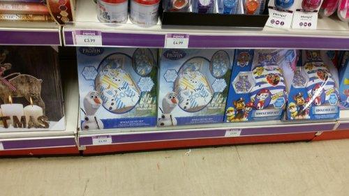 Disney frozen Olaf single duvet cover £4.99 @ Semichem