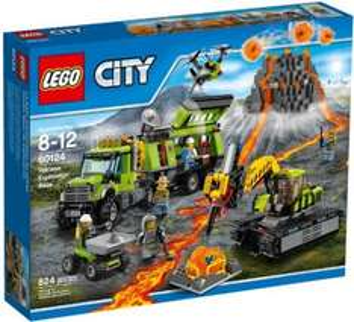 Lego City Volcano Exploration Base £58.13 @ Amazon
