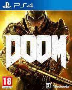 Doom ps4/xbox one preowned £17.99 @ GAME with code