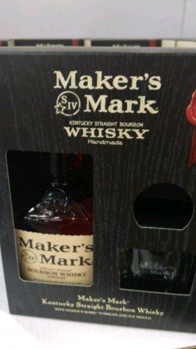 Makers Mark Bourbon 70cl gift set £22.78 @ Costco