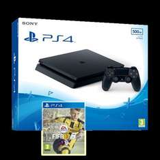 PS4 Slim 1TB Console + Dualshock Controller + FIFA 17 £274.00 (294.00 with BO3) @ Tesco Direct