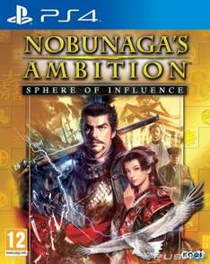 Nobunaga's Ambition: Sphere of Influence Sony PS4 £9.99 @ game.co.uk