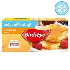 Birds Eye 6 Classic Pancakes 240G £1 at Tesco