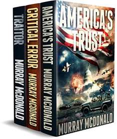Save  £6.77 - ALL ACTION THRILLER BOXSET: THREE MURRAY MCDONALD STANDALONE THRILLERS Kindle Edition - Free Download @ Amazon