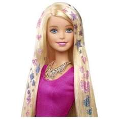 Barbie glitter hair doll half price Tescos online £12.50