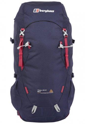 Womens berghaus trailhead 60l rucksack in evening blue /dark cerise £34.37 Amazon rrp £90
