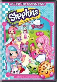 Shopkins Chef Club DVD pre order - From Zoom Online £10 (£9 with code)