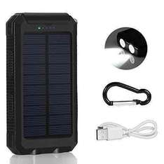 Powerer bank solar charger 10000mah £15.99 Prime or £19.98 non prime. Sold by goodgoogdbuy and Fulfilled by Amazon.