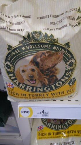 Harringtons dog biscuits 5kg £4.50 in.wilkos