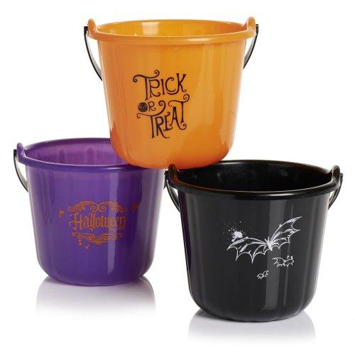 Halloween kids bucket to store the treats 50p @Wilko Free C&C