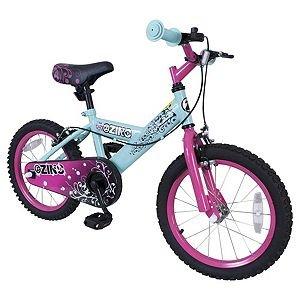 "Zinc 16"" Blue & Pink Bike £55 @ Tesco"
