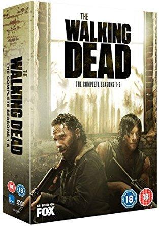 Walking Dead 1-5 dvd £30 @ Amazon