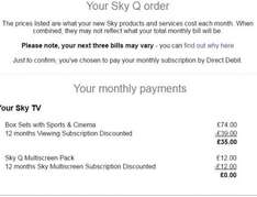 Sky TV Deal (£420 for 12 month contract / £35 per month) plus £10 one-off registration -- NO REFERRALS PERMITTED **