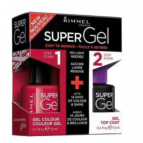 Rimmel Super Gel Kit Rock n Roll £5.00 Free Order & Collect @ Superdrug