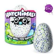 Hatchimals available in Green, Purple Teal or Pink (was £59.99) Pre-order now for £49.99 using code at Smyths Toys