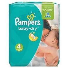 Amazon Pampers Baby-Dry Nappies Monthly Saving Pack - Size 4, Pack of 174 £5.60 on S&S with Amazon Family & £6 Dicsount Voucher