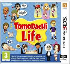 tomodachi life 3ds game £25 in tesco