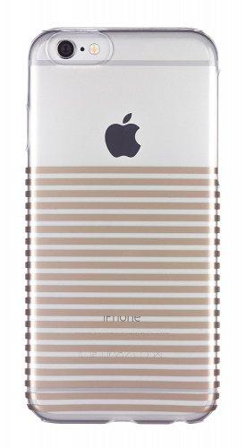 Case it Cover for iPhone 6/6s Inspire Stripe Gold Hardshell Case £2.99 @ ebay (vodafonestore)