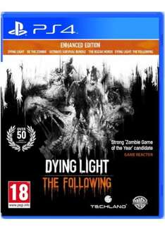 [PS4] Dying Light: The Following - Enhanced Edition - £16.99 - Base