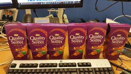 Quality Street - 257g carton - Tesco instore - £1.50 For two