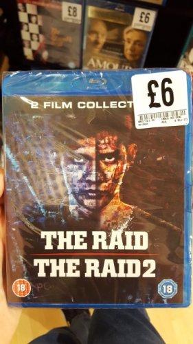 The Raid 1 & 2 Blu ray Fopp Nottingham  £6