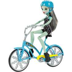 Monster High Frankie Stein Doll Boltin' Bicycle - Tesco - £12