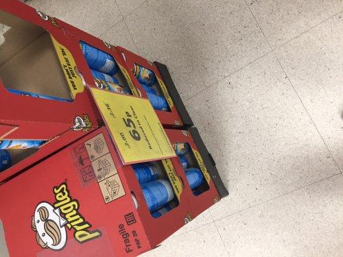 Pringles 65p each!