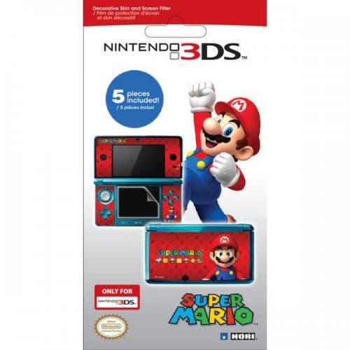 Nintendo 3DS Super Mario Screen Protective Filter & Skin Set 99p (£1.99 del) @ Nintendo store
